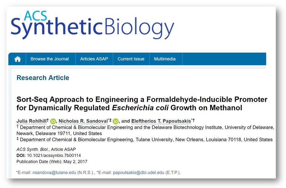 Rohlhill et al ACS Bynthetic Biology