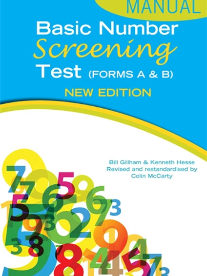 Basic Number Screening Test (Hodder) (Inc Forms A & B)