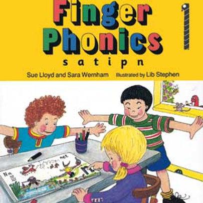 Jolly Phonics Finger Books 1