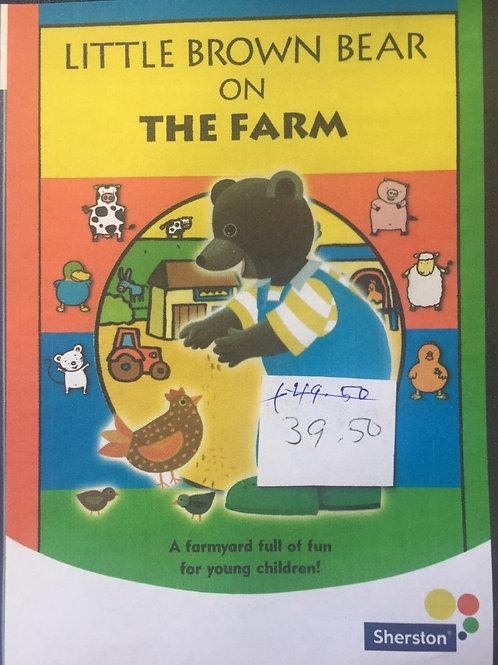 Sherston Little Brown Bear on The Farm