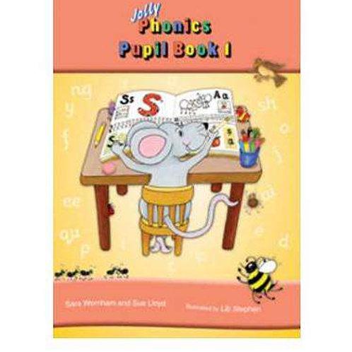 Jolly Phonics Pupil book 1 precursive