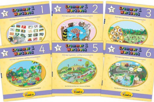 Jolly Grammar 1Workbooks 1-6