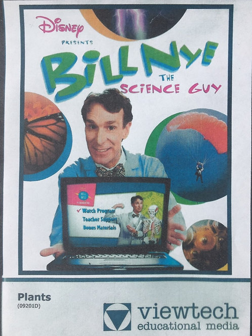 Disney Bill NYE The Science Guy: Plants DVD