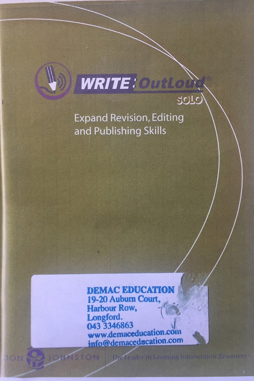 Write OutLoud Solo