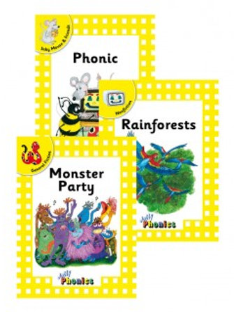 Jolly Phonics Level 2 Yellow Complete Set