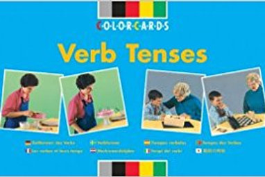 Speechmark Colour Cards Verb Tenses