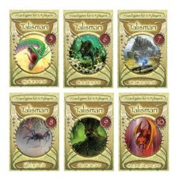 Talisman Cards 5-10