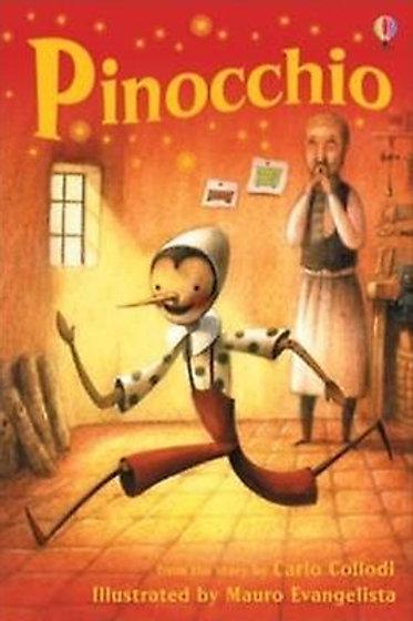 Usborne Readers: Pinocchio 6pk