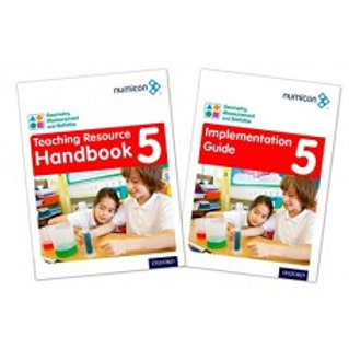 Numicon Geometry, Measurement & Statistics 5 Teaching pack