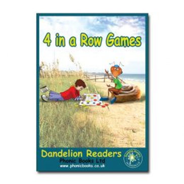 Dandelion 4 in a Row Reading Games