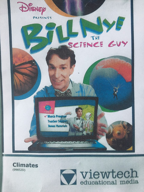 Disney Bill NYE The Science Guy: Life Cycles DVD