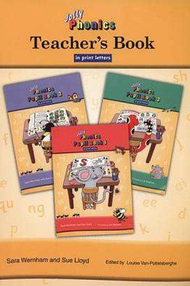 Jolly Phonics Teacher's Guide 1-3 print version