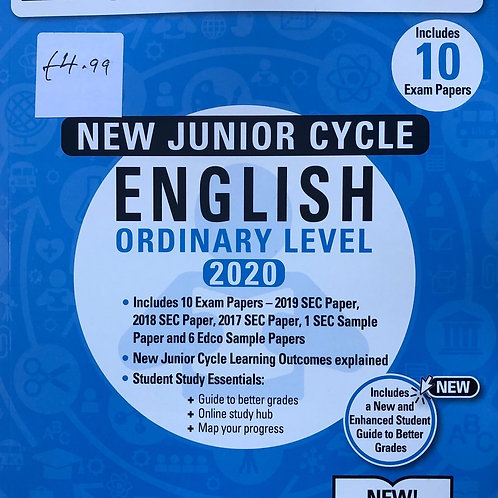 Edco New Junior Cycle English (Ordinary Level) 2020