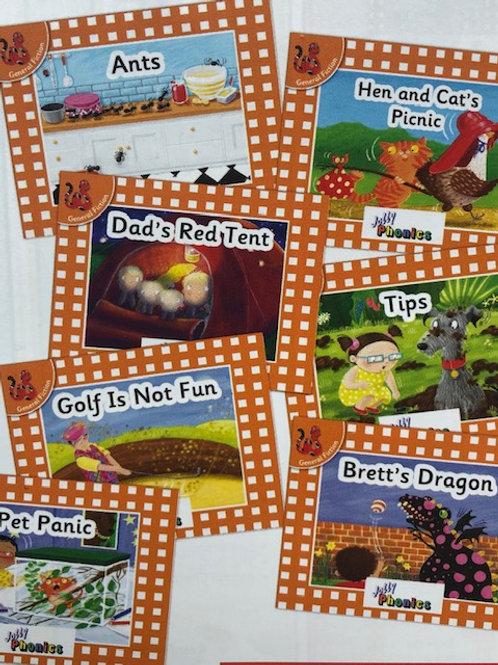 Jolly Phonics Orange Level Readers Complete Set