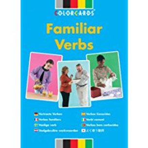 Speechmark Colour Cards: Familiar verbs