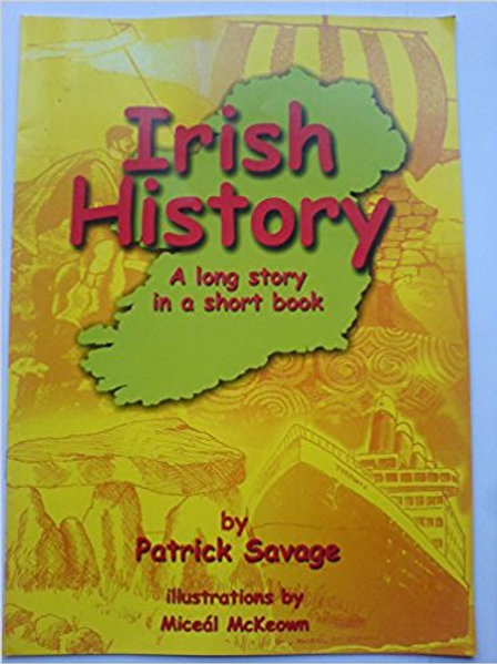 Irish History Short Book & Workbook