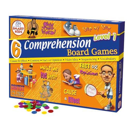6 Comprehension Board Games