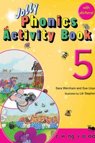 Jolly Phonics Activity Book 5
