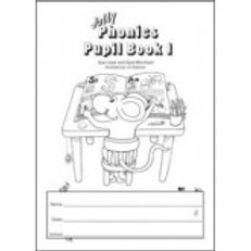 Jolly Phonics Pupil 1 book black and white