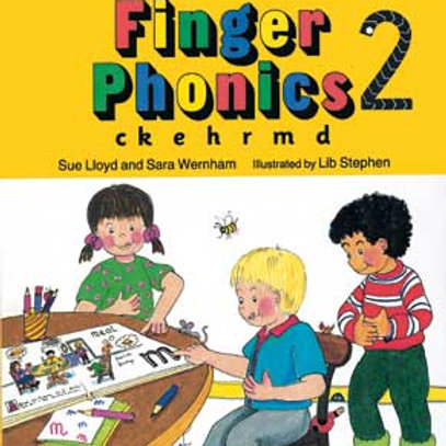 Jolly Phonics Finger Phonics Book 2