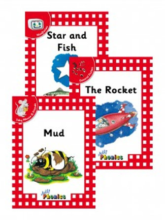 Jolly Phonics Level 1 Red Readers complete set