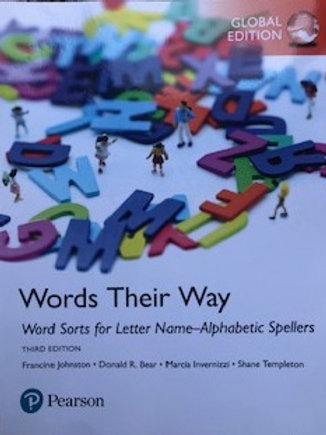 Words Their Way. Word Sorts for Letter Name- Alphabetic Spellers