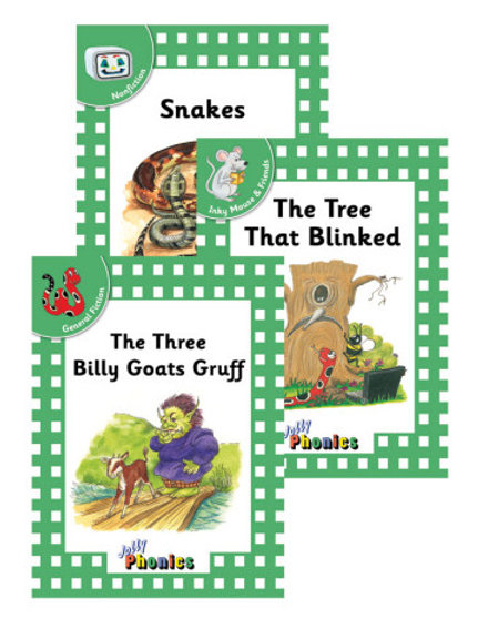Jolly Phonics Level 3 Green Complete Set