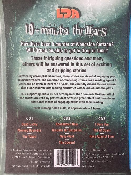 LDA 10-Minute Thrillers. Audio C.D.s
