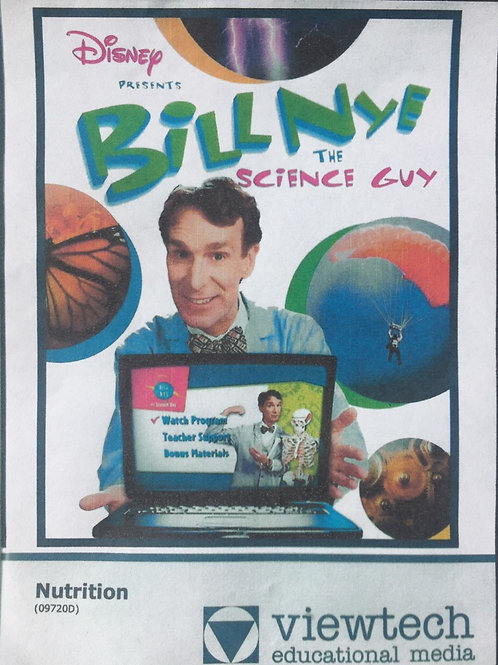 Disney Bill NYE The Science Guy: Nutrition DVD