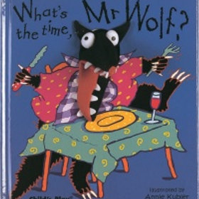 What's The Time Mr Wolf Puppet Book