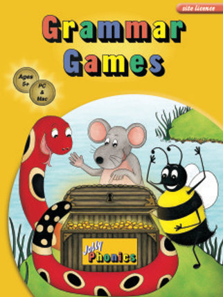 Jolly Phonics Grammar Games Single user