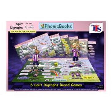 Dandelion Board Game Split Vowel Spellings Set