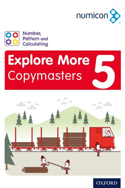 Numicon Explore More 5 Copymasters