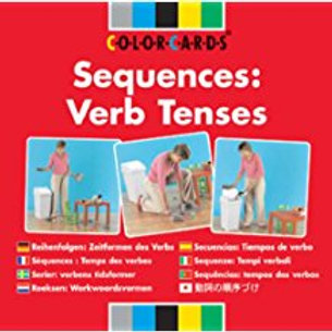Speechmark Colour Cards: Sequences- verb tenses