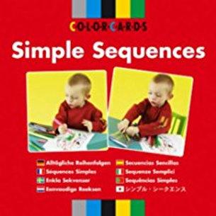 Speechmark Colour Cards: Simple Sequences