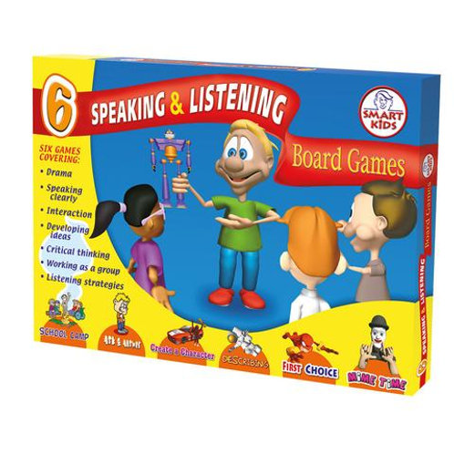 6 Speaking and Listening Board Games