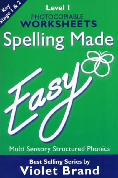 Spelling Made Easy Level 1 Text Book