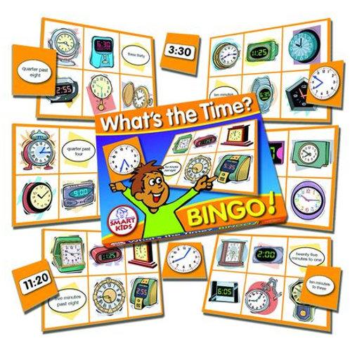 Whats The Time Bingo
