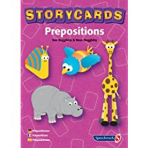 Speechmark Colour cards: Prepositions