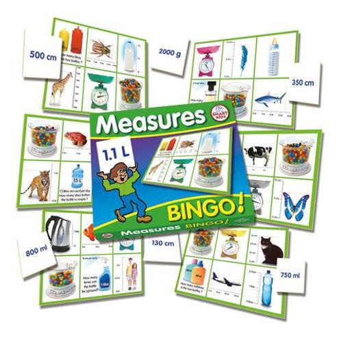 Measures Bingo