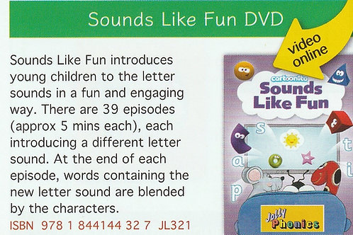 Sounds like Fun DVD JL321
