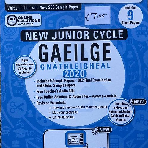 Edco New Junior Cycle Gaeilge Gnáthleibhéal 2020