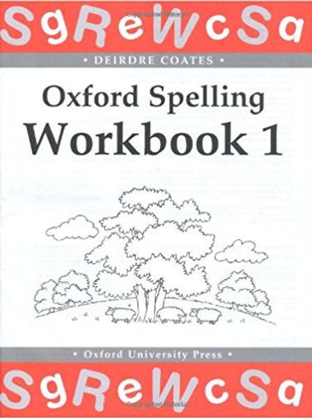 Oxford Spelling Workbook 1