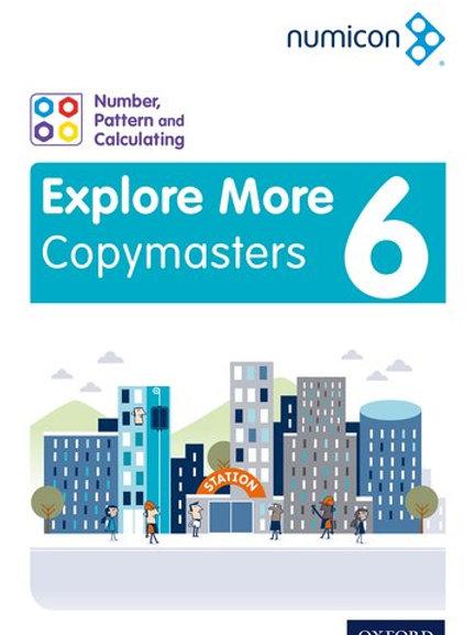 Numicon Explore More 6 Copymasters