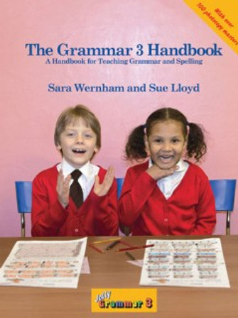 Jolly Phonics Grammar 3 Handbook