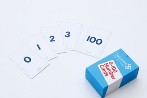 Numicon 0-100 Numeral Cards