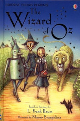 Usborne Readers: The Wizard of Oz 6pk