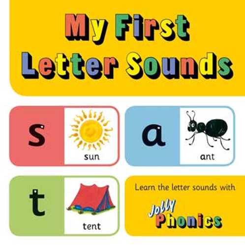 Jolly Phonics My First Letter Sounds