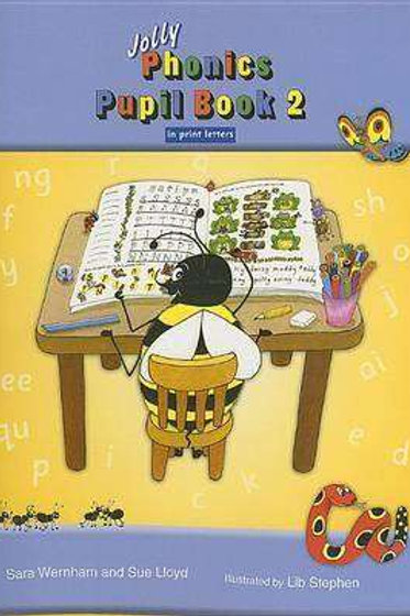 Jolly Phonics Pupil Book 2 print version