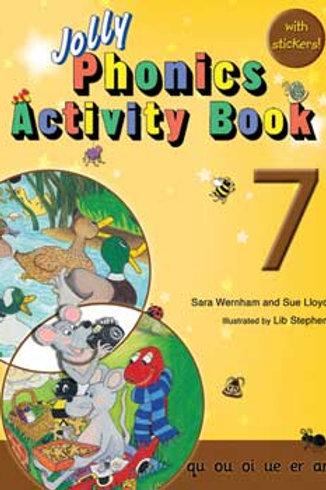 Jolly Phonics Activity Book 7